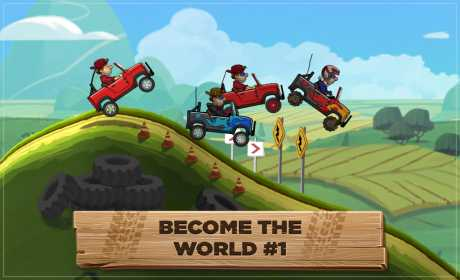 Download Game Android Hill Climb Racing 2 Mod Apk [ Unlimited Money ]