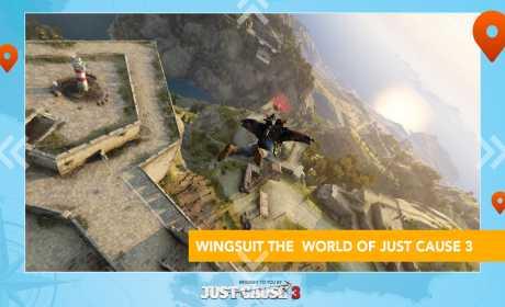 Just Cause 3: WingSuit Tour