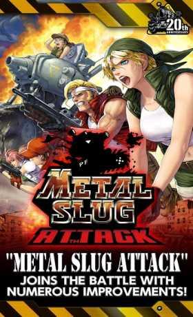 METAL SLUG ATTACK v2.15.0 Apk + Mod (Unlimited AP) Android