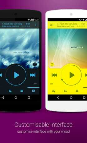 NRG Player music player