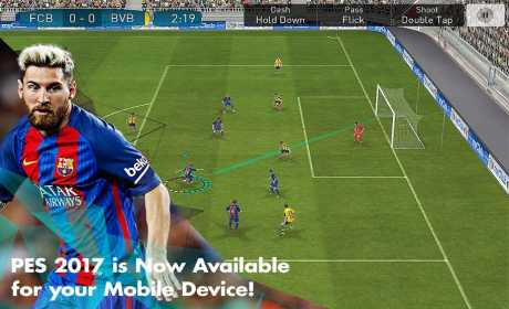 Download PES 2018 PRO EVOLUTION SOCCER 2.3.1 Apk + Mod Money + Data for android