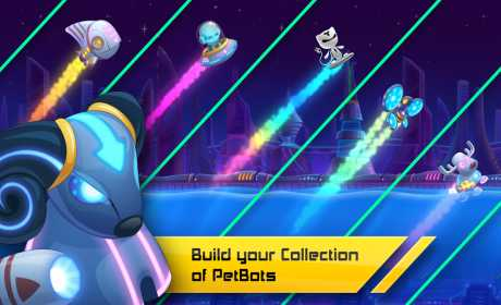 Pet Bots: Endless Runner Game