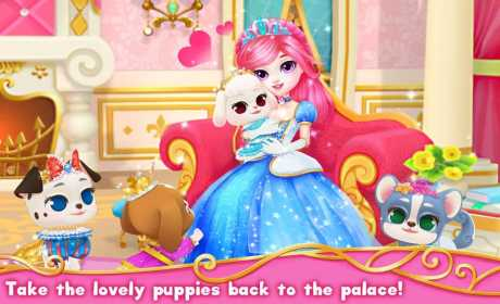 Princess Palace: Royal Puppy