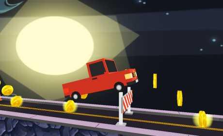 Risky Infinite Roads