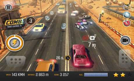 Road Racing: Traffic Driving