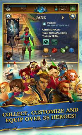 Saber's Edge - Puzzle RPG