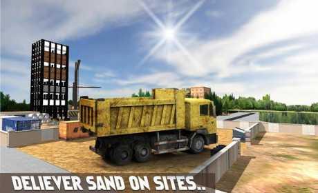 Sand Excavator Simulator 3D