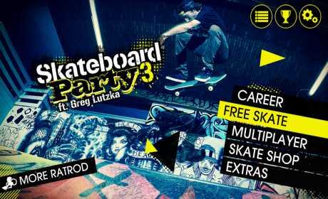 Skateboard Party 3 Greg Lutzka