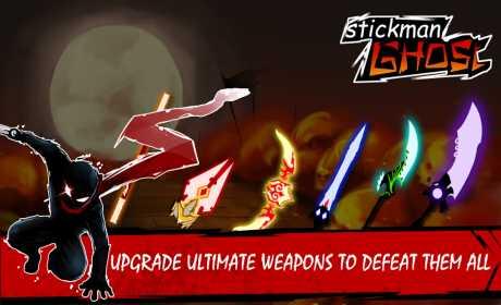 Stickman Ghost Warrior