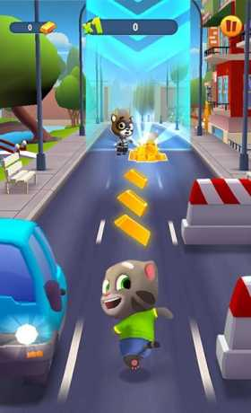 Talking Tom Gold Run Mod Apk v2.2.0.1519 (unlimited money)