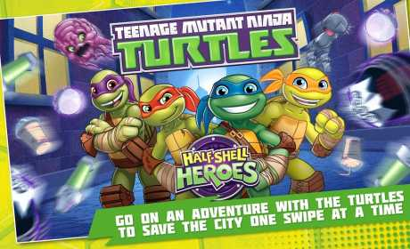 TMNT: Half-Shell Heroes v1 0 Apk + Data android