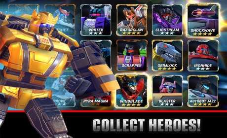 Transformers Earth Wars Mod APK