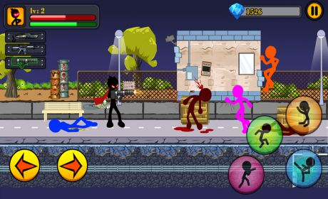 Anger of stick 7 - Stickman warriors - Epic fight