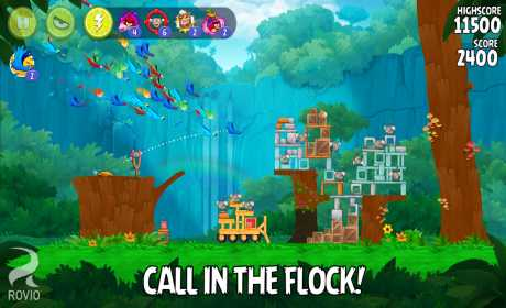Angry Birds Rio 2 6 13 Apk + MOD Gains Android