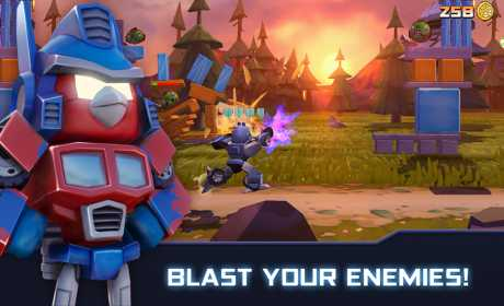 Angry Birds Transformers 1 45 5 Apk + MOD Coins,Jenga
