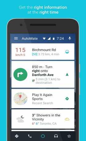 AutoMate - Car Dashboard