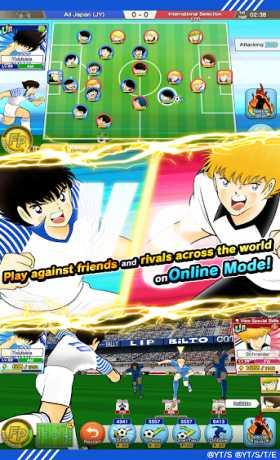 Captain Tsubasa: Dream Team 2 8 1 Full Apk + Mod Weak rivals android