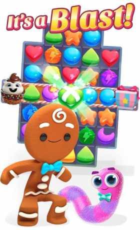 Cookie Jam Blast - Combat and Puzzles