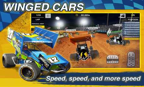 Dirt Trackin Sprint Cars 2 0 07 Apk + Data android