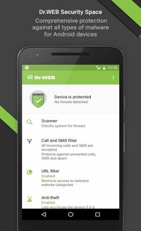 Dr Web Security Space Life 12 4 1 Apk + Key android