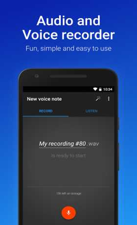 Easy Voice Recorder Pro v2 4 2 build 11050 Apk android