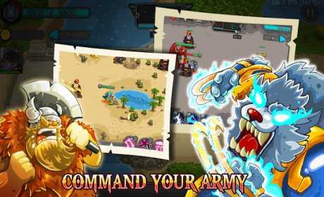 Defender Battle: Hero Kingdom Wars - Strategy Game Premium