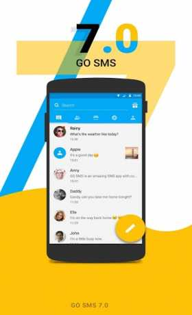 GO SMS Pro Premium 7 88 Apk Unlocked + Plugin/Language/Sticker/font