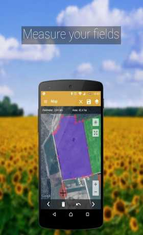 GPS Fields Area Measure PRO