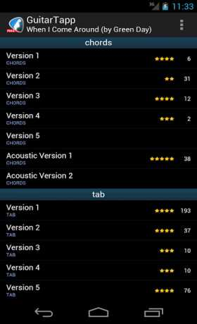 GuitarTapp PRO - Tabs & Chords 2.9.9 Apk android
