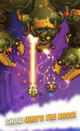 HAWK – Force of an Arcade Shooter. Shoot 'em up!