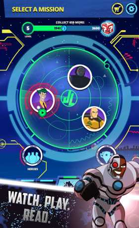 Justice League Action Run 2 08 Apk + Mod + Data android