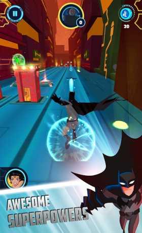 Justice League Action Run