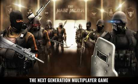 MazeMilitia: LAN, Online Multiplayer Shooting Game (Unreleased)