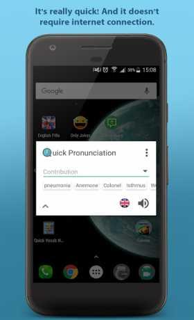 Quick Pronunciation Tool