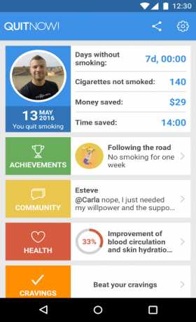 Quit smoking - QuitNow!