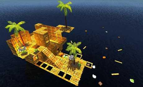 Raft Survival Simulator