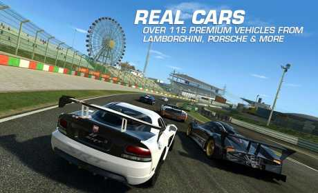 download mod apk Real Racing 3 for android with data