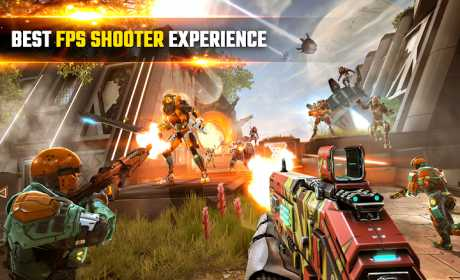 Shadowgun Legends Full Apk + Data v0.1.1 Android