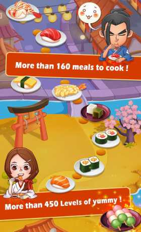 Sushi Master - Cooking story 3 6 0 Apk + Mod (Money/Coins