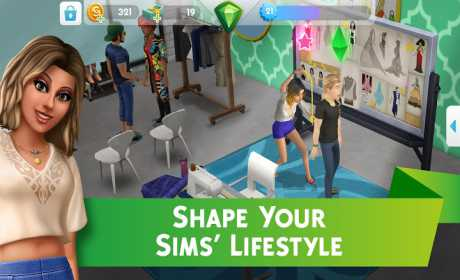 apk mod The Sims Mobile is good for playing