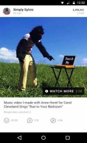 Vine - video entertainment
