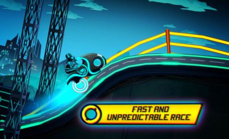 Bike Race Game Traffic Rider Neon City 3 36 Apk Mod #2: bike race game traffic rider of neon city 2