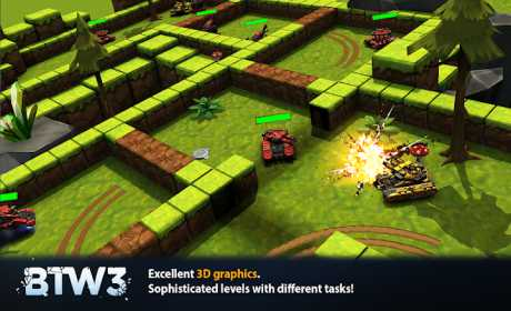 Block Tank Wars 3 1 19 Apk + Mod (Money/Adfree) android