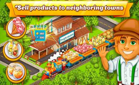 Cartoon City: farm to village