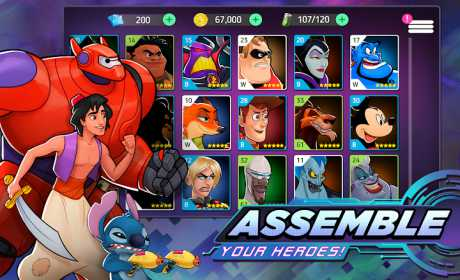 Disney Heroes: Battle Mode 1 12 1 Apk android Download
