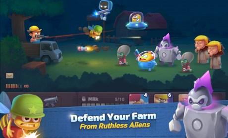 Farm Guns: Alien Clash 2018