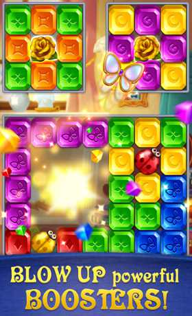 Gem Blast: Magic Match Puzzle