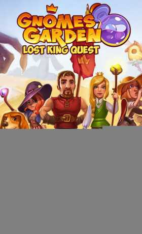Gnomes Garden: The Lost King
