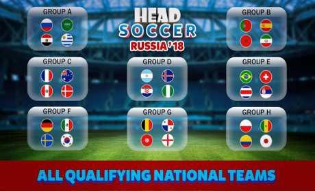 head soccer russia cup 2018: world football league 4.1.1