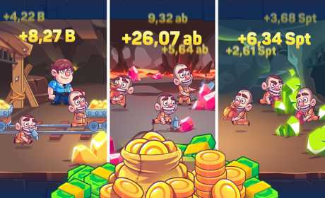 Idle Prison Tycoon: Gold Miner Clicker Game 1 5 2 Apk + Mod (Money